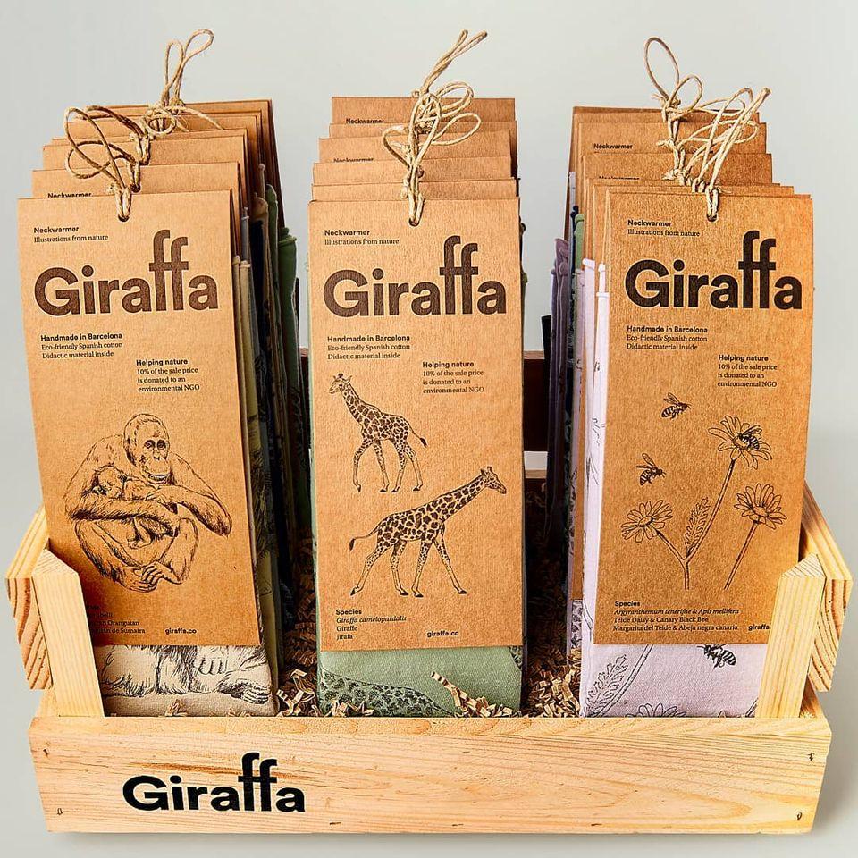 Giraffa box donant ambiental