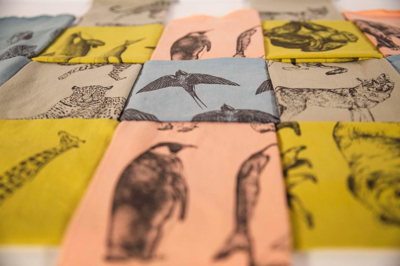 Giraffa mocadors